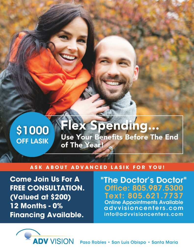 Flexible Spending Ad - $1000 off LASIK